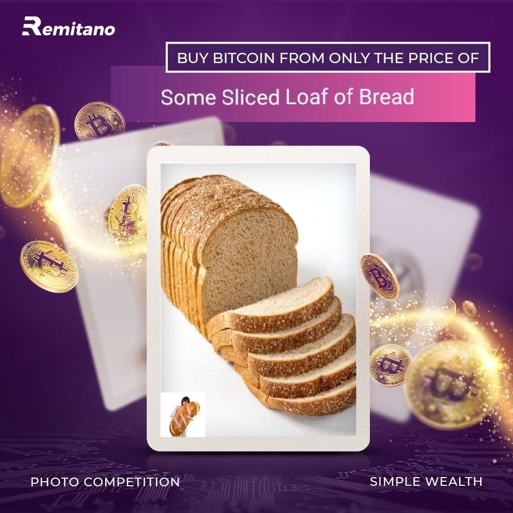 bitcoin bread
